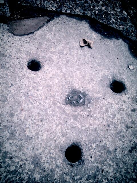 manhole in Milan
