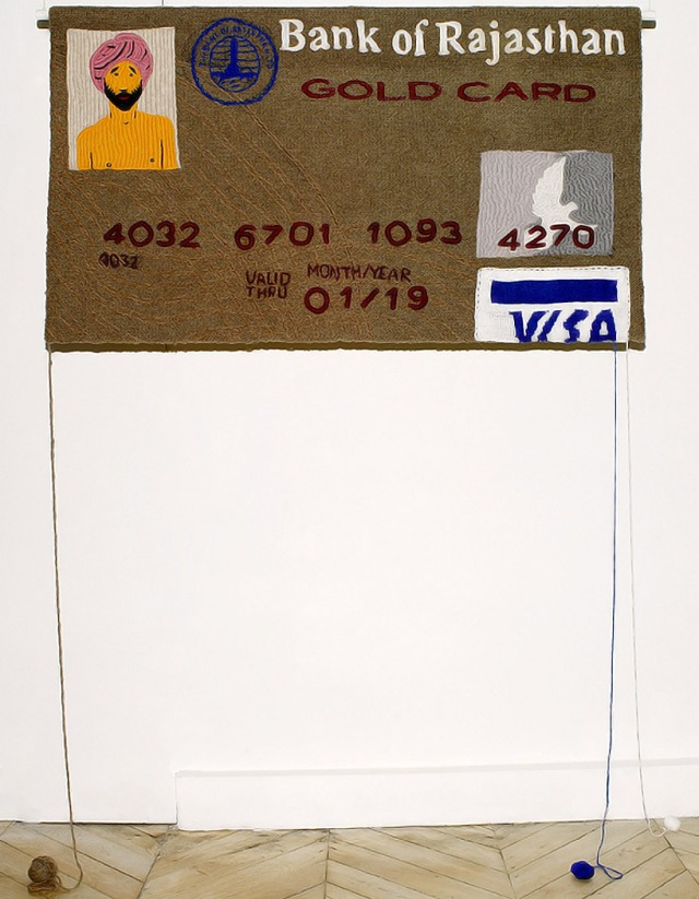 Knitted Credit Card  Dimitri Tsykalov 5
