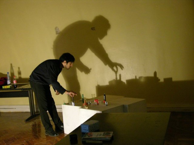 Shadow art Rashad Alakbarov