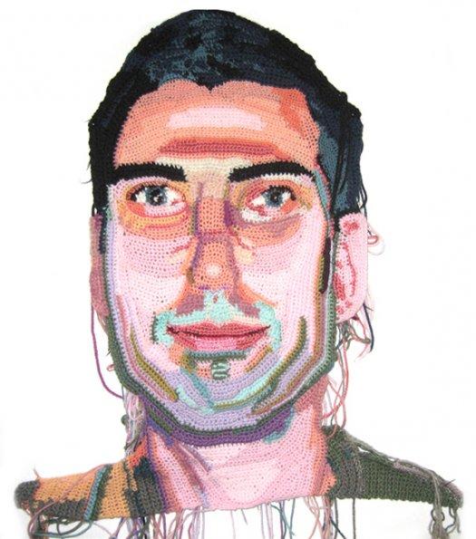 Jo Hamilton Crochet Portraits 6