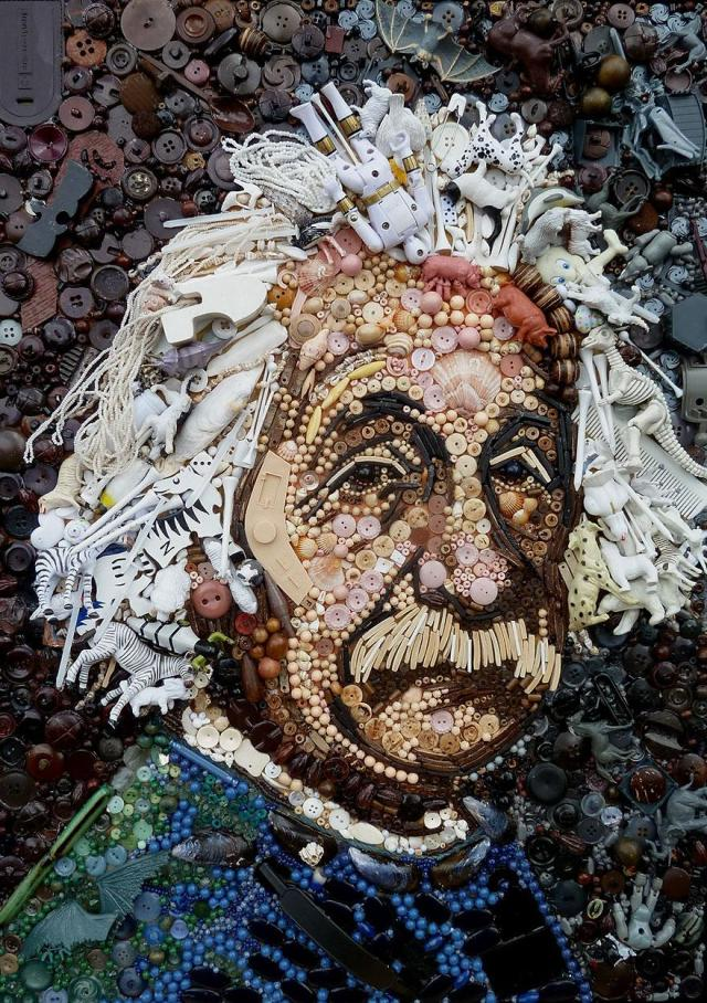 Junk Portraits Jane Perkins 2