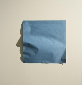 paper square shadow art Kumi Yamashita