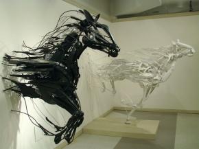 animal sculptures sayaka ganz 1