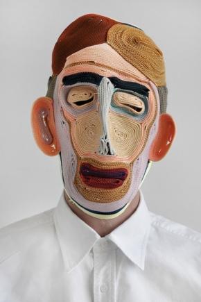 colered rope Masks Bertjan 1