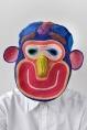 colered rope Masks Bertjan