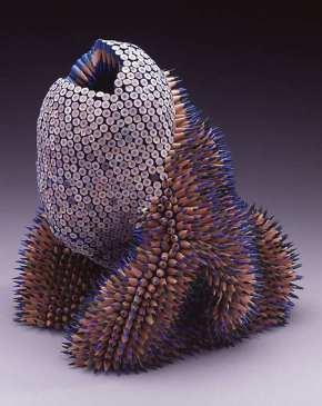 pencil sculpture jennifer maestre 1