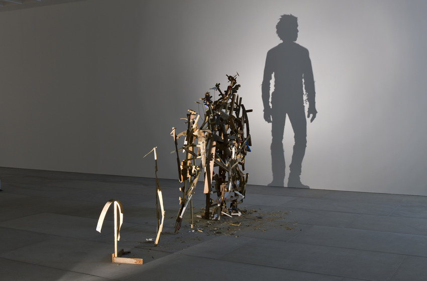 Shadow Art Part - 29: From Discarded Wood To Shadow Art T. Noble And S. Webster 7