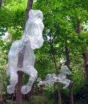 tape sculpture Mark Jenkins