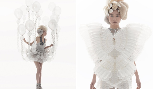 balloon dresses  rie hosokai and takashi kawada 9