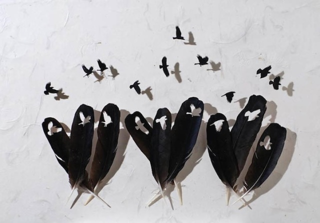 intricate feather cutouts chris maynard 10