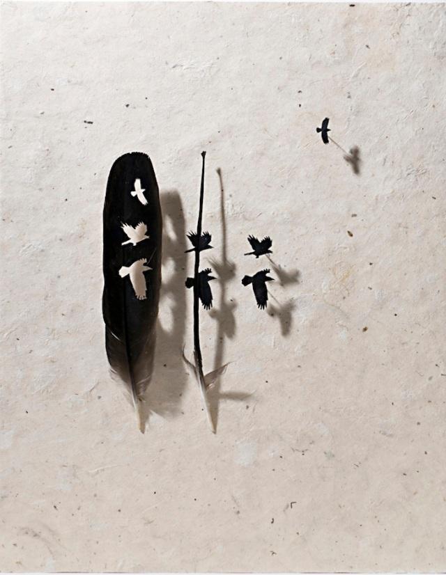 intricate feather cutouts chris maynard 4