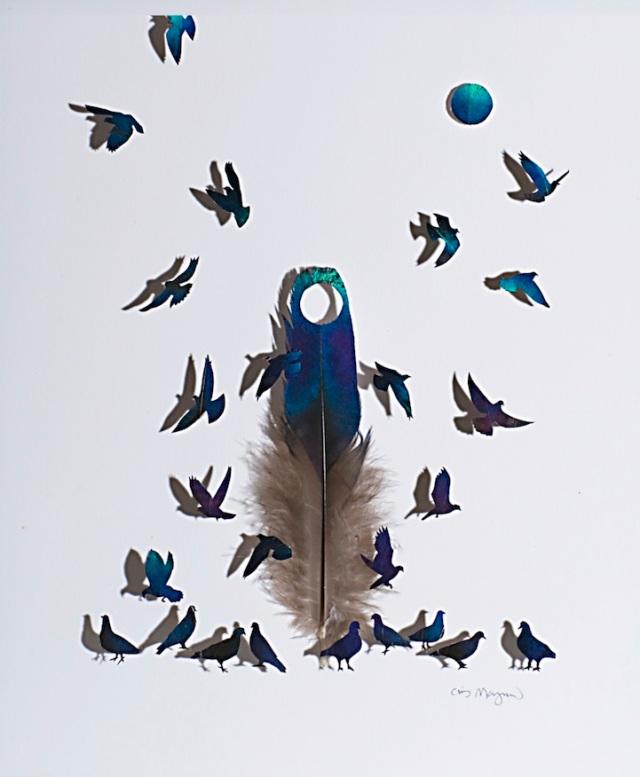 intricate feather cutouts chris maynard 7