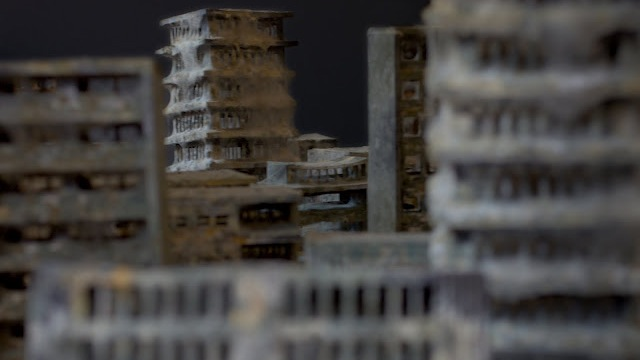 Mold covered model buildings Daniele del Nero 7