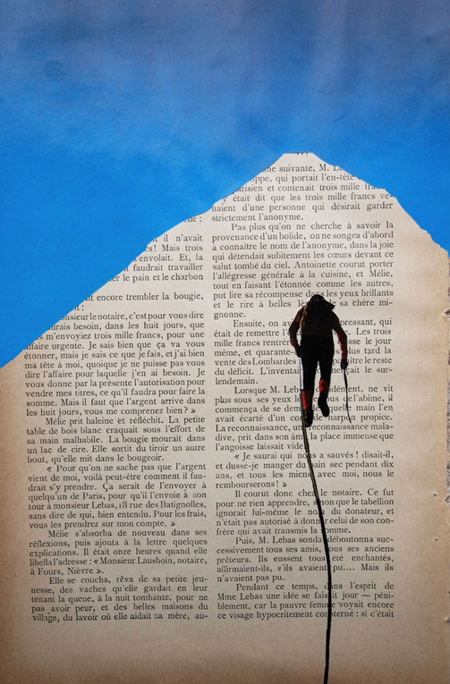 Paper Mountain Climbers Erwan Soyer 5