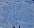 Trampled Snow Art Simon Beck 8