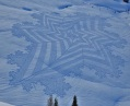 Trampled Snow Art Simon Beck 8