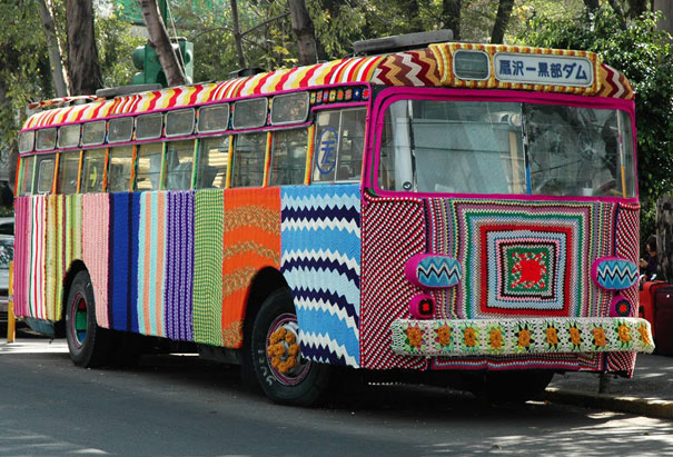 yarn bombing knitting world 10