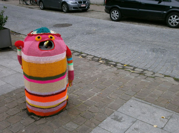 yarn bombing knitting world 21