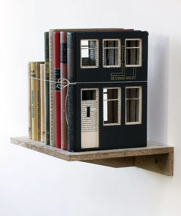 Architecturally Carved Books Frank Halmans 5
