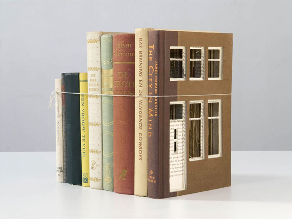 Architecturally Carved Books Frank Halmans 6