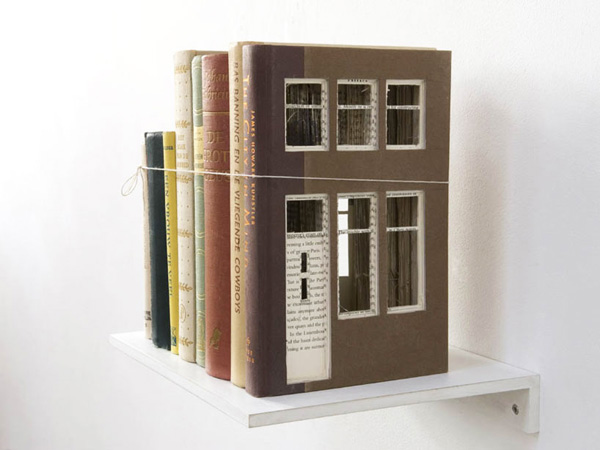Architecturally Carved Books Frank Halmans 7