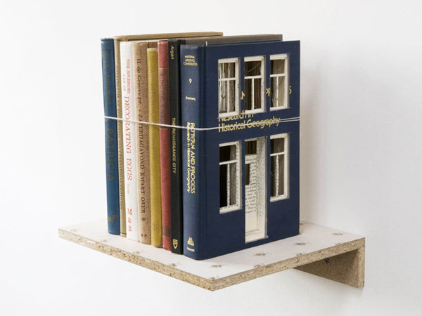 Architecturally Carved Books Frank Halmans