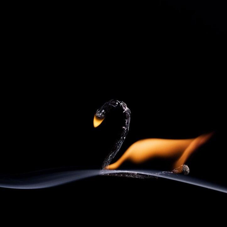 Burnt Matchstick Art Stanislav Aristov 5