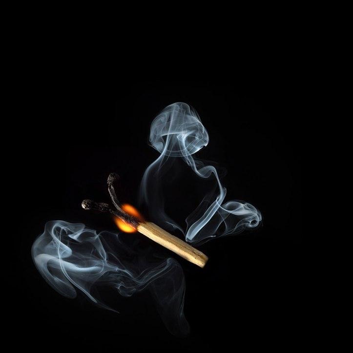 Burnt Matchstick Art Stanislav Aristov 7