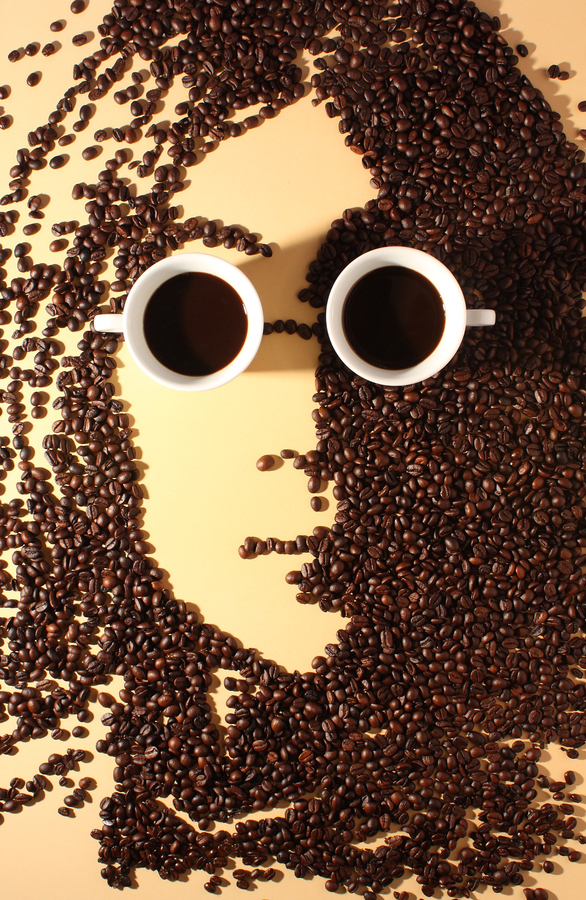 coffee art Jatuporn K.suwan john Lennon