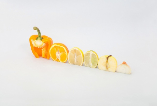 cut and paste with fruit and vegetables Florent Tanet 17