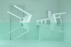 flooded house illusion Kyung Woo Han 2