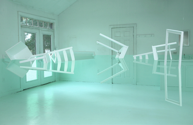 flooded house illusion Kyung Woo Han 5