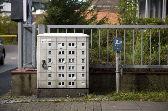 miniature apartment buildings in Berlin Evol 3
