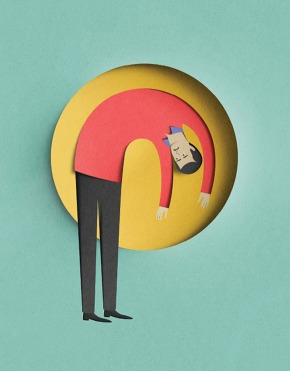 PAPER CUT ILLUSTRATIONS EIKO OJALA 2