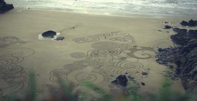 Sand Drawings  Tony Plant 6