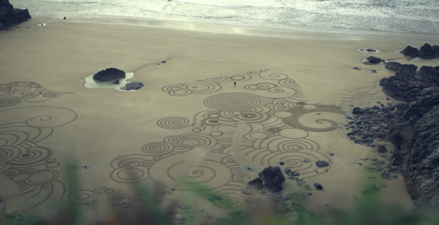 Sand Drawings  Tony Plant 6