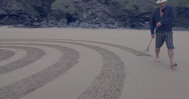 Sand Drawings  Tony Plant 7