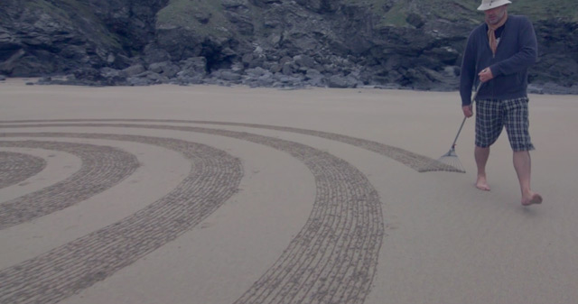 Sand Drawings  Tony Plant 7