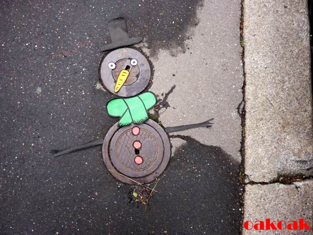 Street Art Illusion OAKOAK 13