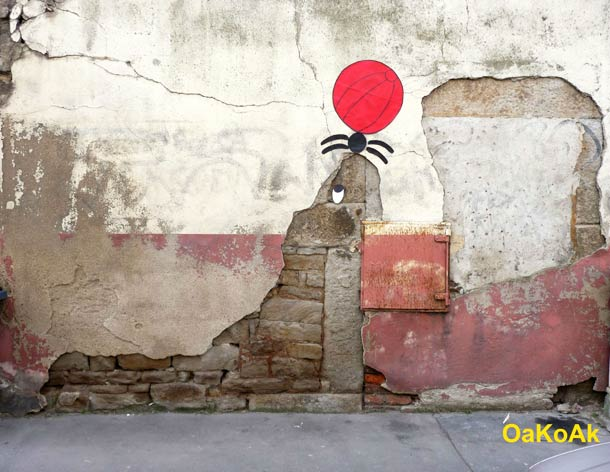 Street Art Illusion OAKOAK 14