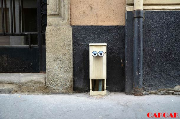 Street Art Illusion OAKOAK 24
