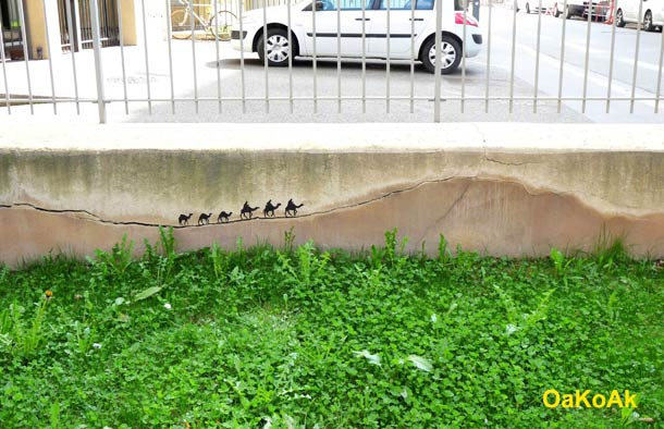 Street Art Illusion OAKOAK 3