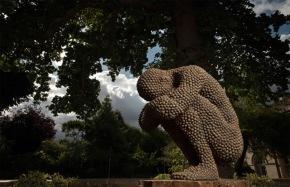 Anna Gillespie Nature Art Sculptures Acorns Beechnut Casings Bronze 2