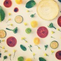 Colorful FOOD COLLAGES  JULIE LEE 4