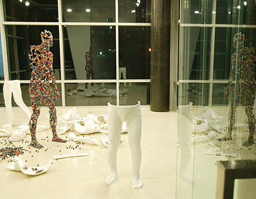 human dice sculptures Kim Hyun 8