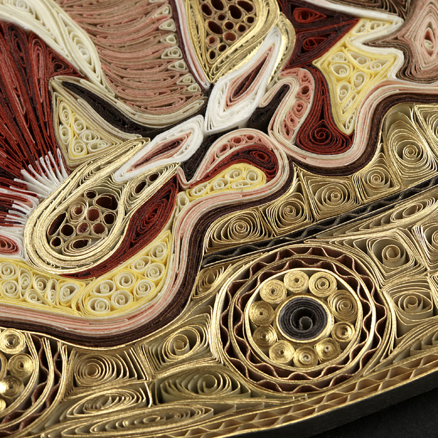 Quilled Paper Anatomy Lisa Nilsson 4