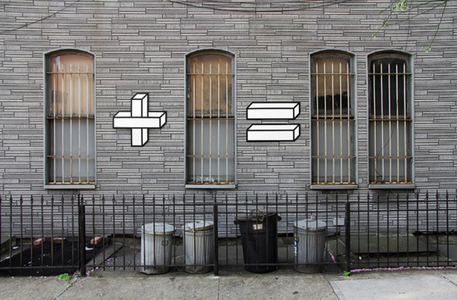Tape art Illusion Aakash Nihalani 5