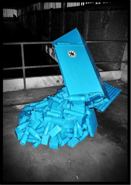 Urban installation Consomas Lor k 9
