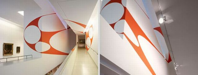 Architectural Felice Varini anamorphic paintings 22