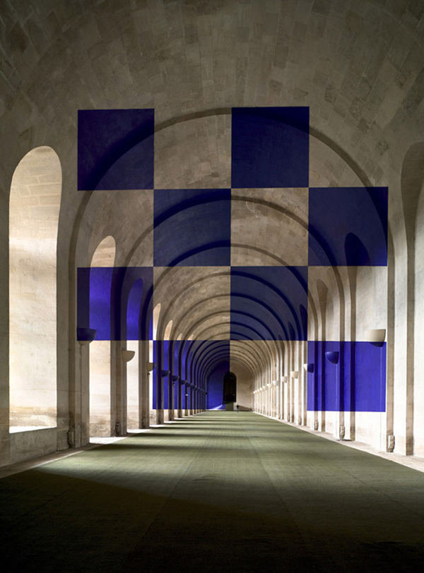 Architectural Felice Varini anamorphic paintings 3